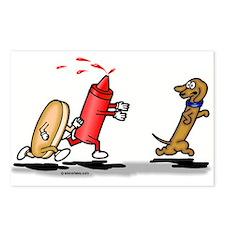 Run Wiener Dog! Postcards (Package of 8)