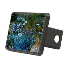 Monet - Irises and Water L Hitch Cover