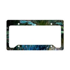 Monet - Irises and Water Lili License Plate Holder
