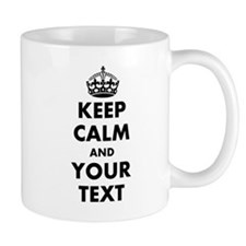 Personalized Keep Calm Mugs