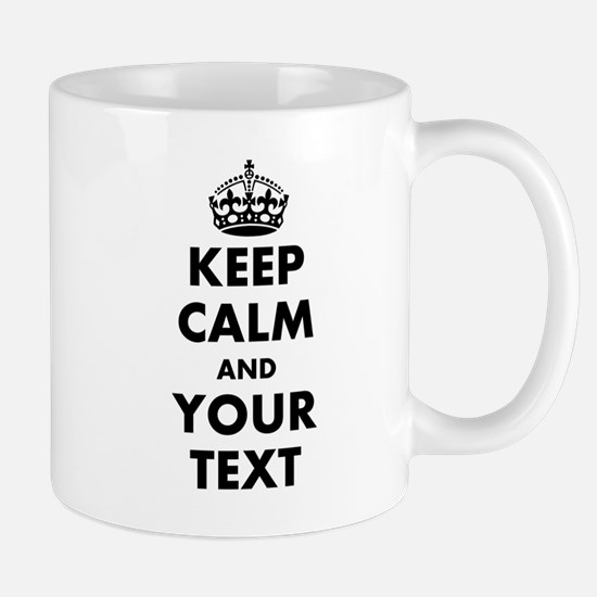 Personalized Keep Calm Mugs