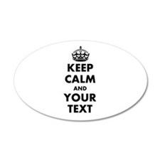 Personalized Keep Calm Wall Decal