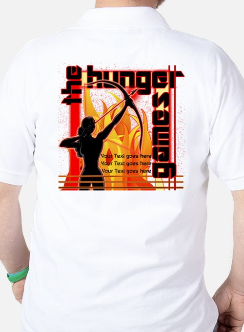 Personalize Girl on Fire T-Shirt