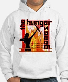 Personalize Girl on Fire Jumper Hoodie