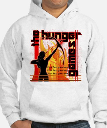 Personalize Girl on Fire Jumper Hoody
