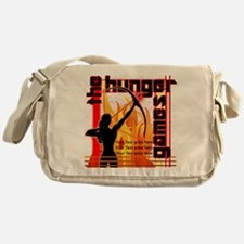 Personalize Girl on Fire Messenger Bag