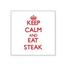 Keep calm and eat Steak Sticker
