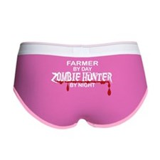 Zombie Hunter - Farmer Women's Boy Brief