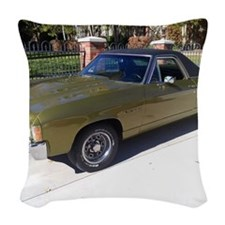 El Camino Woven Throw Pillow