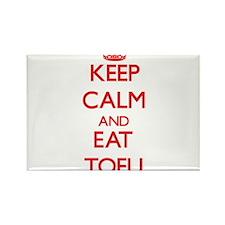 Keep calm and eat Tofu Magnets