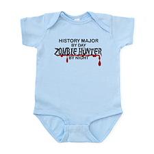 Zombie Hunter - History Major Infant Bodysuit