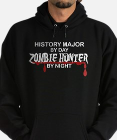 Zombie Hunter - History Major Hoodie