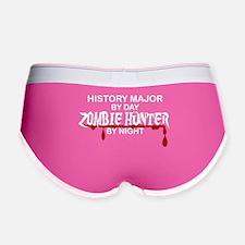 Zombie Hunter - History Major Women's Boy Brief