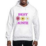 BEST AUNTIE WITH FLOWERS Hoodie