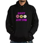 BEST AUNT EVER WITH FLOWERS 3 Hoodie