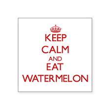 Keep calm and eat Watermelon Sticker