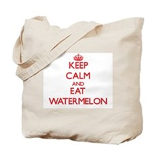 Keep calm and eat Watermelon Tote Bag
