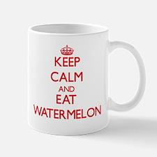 Keep calm and eat Watermelon Mugs
