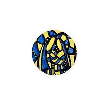 Holy Family Christmas Mini Button