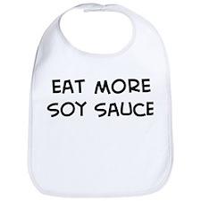Eat more Soy Sauce Bib