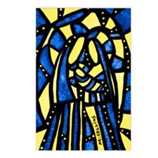Abstract Holy Family Nativity Scene Postcards (Pac