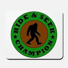 Bigfoot Hide And Seek Champion Mousepad