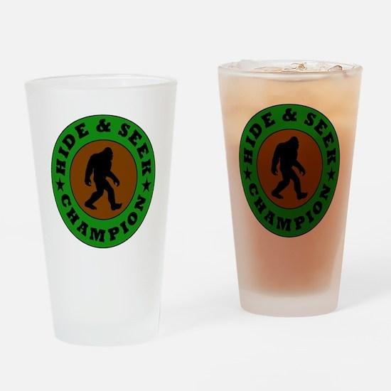 Bigfoot Hide And Seek Champion Drinking Glass