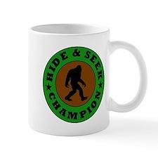 Bigfoot Hide And Seek Champion Mugs