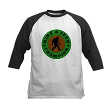 Bigfoot Hide And Seek Champion Baseball Jersey