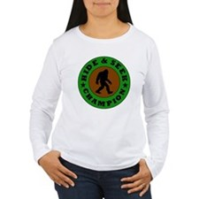 Bigfoot Hide And Seek Champion Long Sleeve T-Shirt