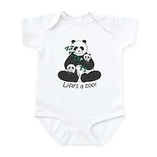 Panda with Cubs Infant Bodysuit