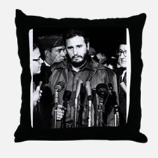 Fidel Castro 1959 Throw Pillow