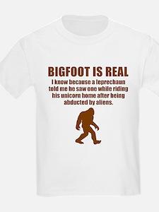 Bigfoot Is Real T-Shirt