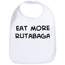 Eat more Rutabaga Bib