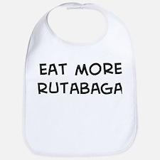 Eat more Rutabaga Bib