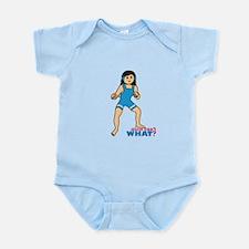 Woman Wrestler Medium Infant Bodysuit
