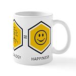 Time Travel + Genealogy = Happiness Mug