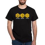 Time Travel + Genealogy = Happiness Dark T-Shirt
