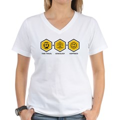 Time Travel + Genealogy = Happiness Shirt