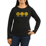 Time Travel + Genealogy = Happiness Women's Long S