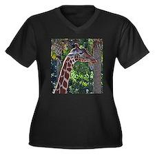 Giraffe Plus Size T-Shirt