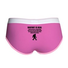 Bigfoot Is Real Women's Boy Brief