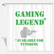 Gaming Legend Shower Curtain
