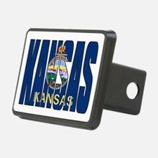 Kansas Flag Hitch Cover