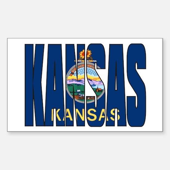 Kansas Flag Decal