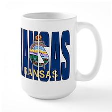 Kansas Flag Mugs
