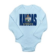 Kansas Flag Body Suit