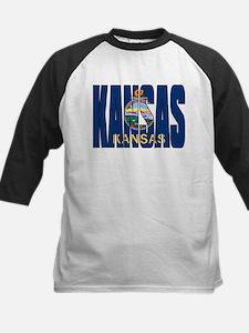Kansas Flag Baseball Jersey