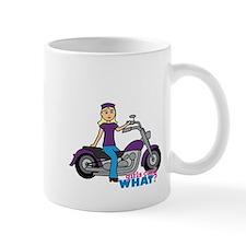 Biker Girl Light/Blonde Mug