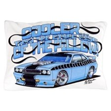 2010 Dodge Challenger with Text Pillow Case